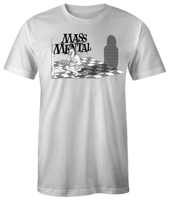 "Mass Mental T-Shirt ""Cupcakes"" (weiss)"