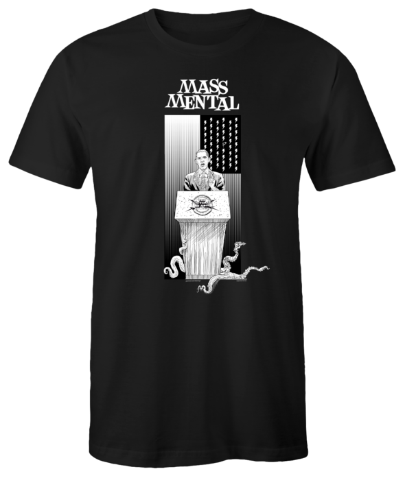 "Mass Mental T-Shirt ""Invasion"" (schwarz)"