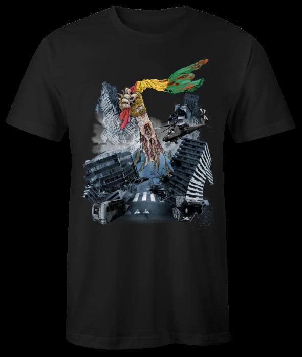 "T-Shirt ""Zombiecalypse"" (schwarz)"