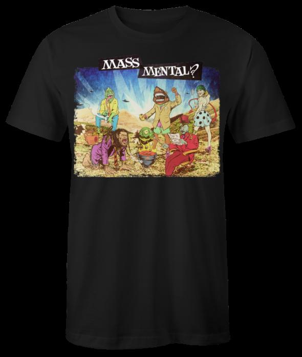 """Mass Mental T-Shirt """"Mass Mental"""" (schwarz)"""