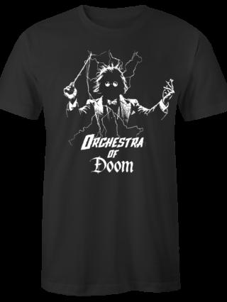 """T-Shirt """"Orchestra of Doom"""" (schwarz)"""