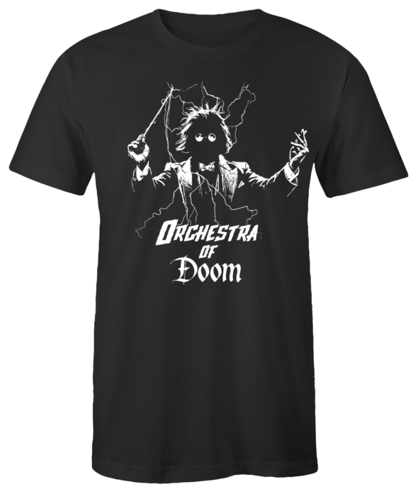 "T-Shirt ""Orchestra of Doom"" (schwarz)"