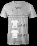 T-Shirt Grössentabelle (cm)