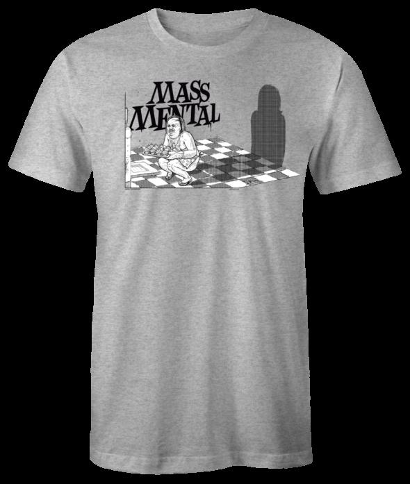 "Mass Mental T-Shirt ""Cupcakes"" (grau mélange)"