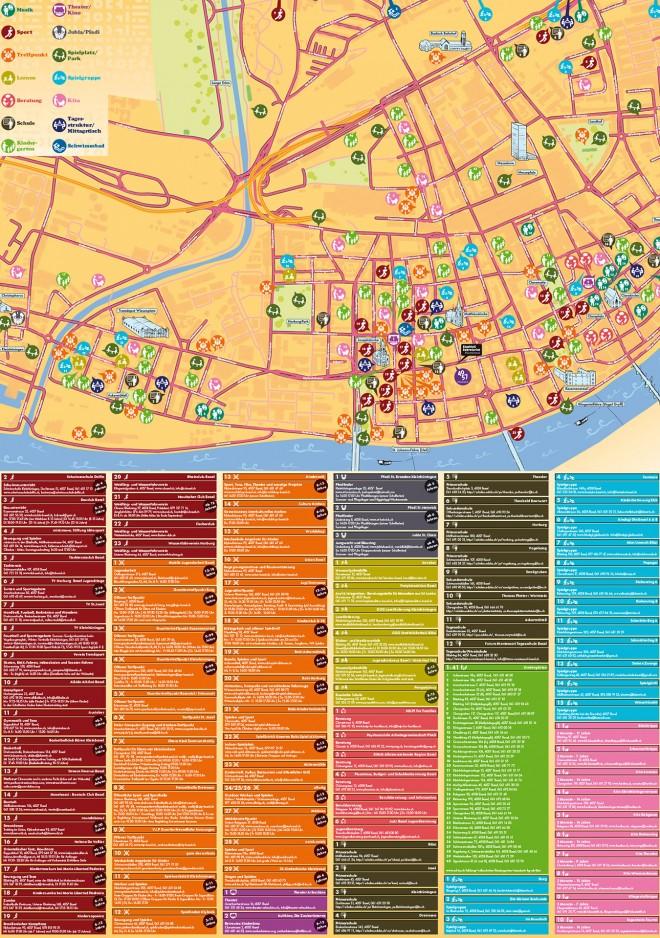 Kinder- und Jugendstadtplan 4057 Basel